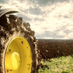 Tractors and earth-moving machines