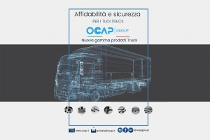OCAP LAUNCHES THE NEW TRUCK STEERING AND SUSPENSION RANGE