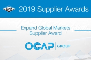 OCAP VINCITRICE DEL PREMIO EXPAND GLOBAL MARKET SUPPLIER AWARD 2019